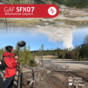 Cover G4F SFX07 - Yellowstone Geysers